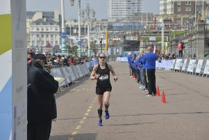 Brighton Marathon. Photo by Jon Rigby. SUS-190414-143950001