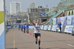 Brighton Marathon. Photo by Jon Rigby. SUS-190414-143705001