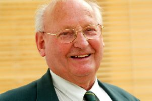 Pictured in 2007 - Frank King, Horsham Football Club Chairman MAYOAK0003433356