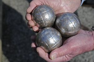 Petanque, also called boules, is a game for all. 'Picture Ian Hargreaves