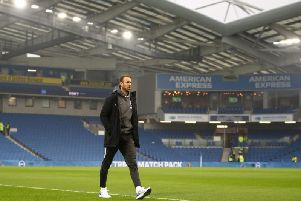 Will Glenn Murray be walking away from the Amex during the January transfer window...Head coach Graham Potter hopes he does not